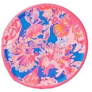Lilly Pulitzer Pink Blue Soft Frisbee Flying Disk